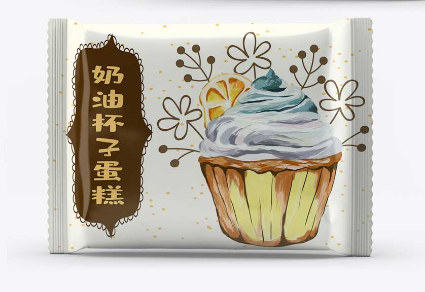 奶油杯子蛋糕包装