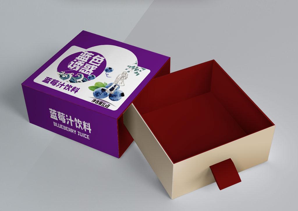 蓝莓汁饮料包装
